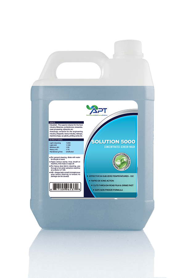 solution 5000 screen wash