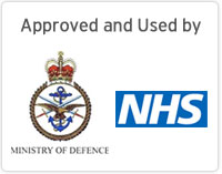 Approved by MOD and NHS