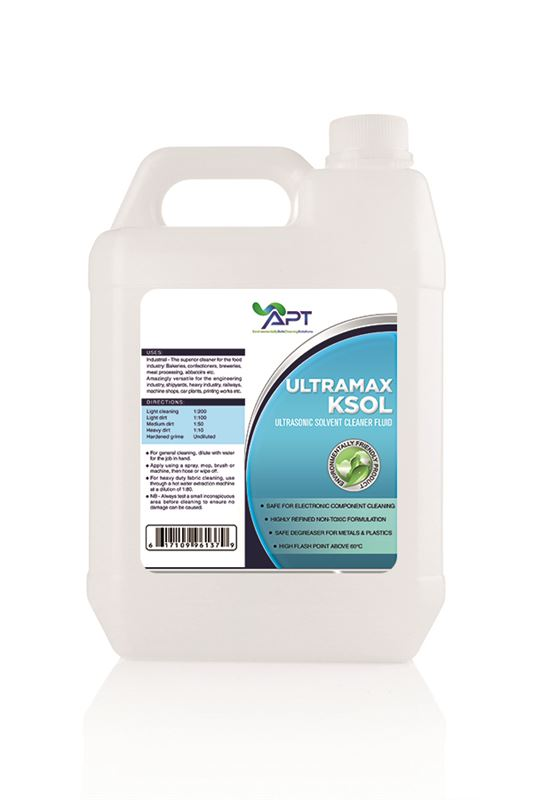 Picture of Solvent Cleaning Fluid - UltraMax KSOL - 5 Litres