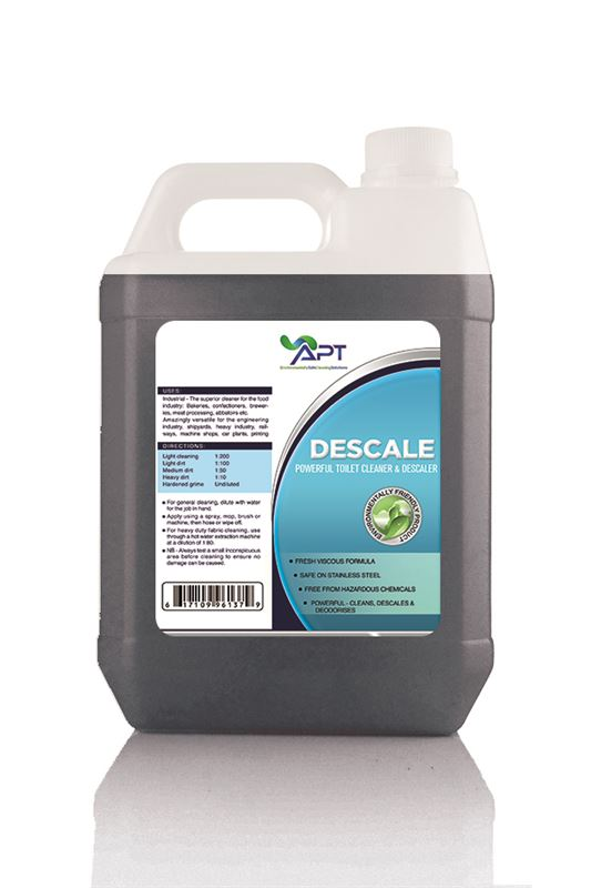 Picture of Concentrated Toilet Cleaner & Toilet Descaler - Eco Safe With Natural Perfumes - 4 x 5 Litre