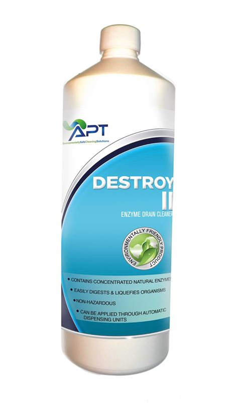 Picture of Grease Trap Cleaners & Fat Digester  - Destroy II - 12 x 1 Litre