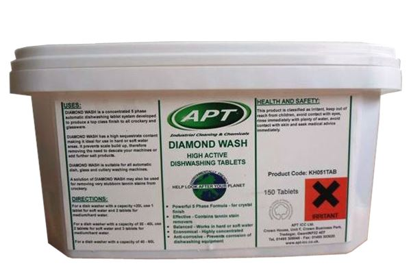 Picture of Dishwasher Tablets - Diamond Wash - 1 x 150 Pack