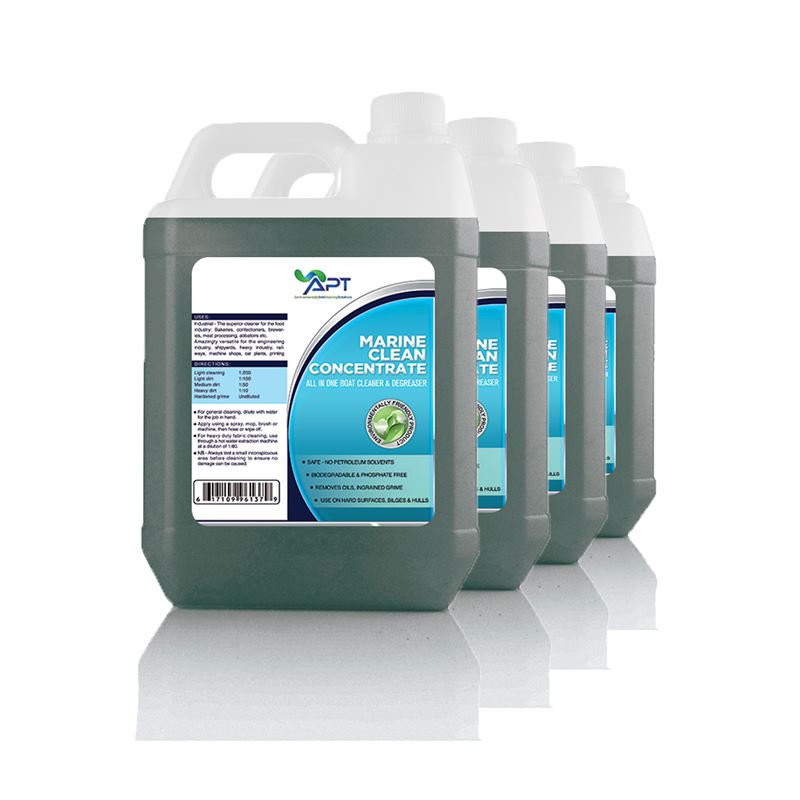 Picture of Yacht & Boat Cleaner - Marine Clean - 4 x 5 Litres