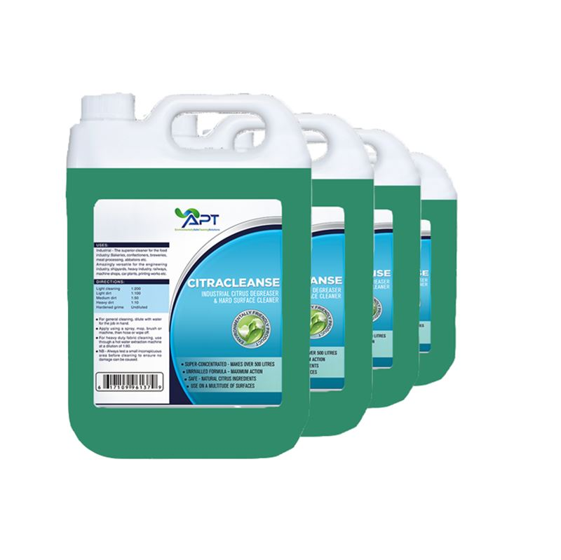 Picture of Citrus Cleaner and Degreaser - Citracleanse - 4 x 5 Litres