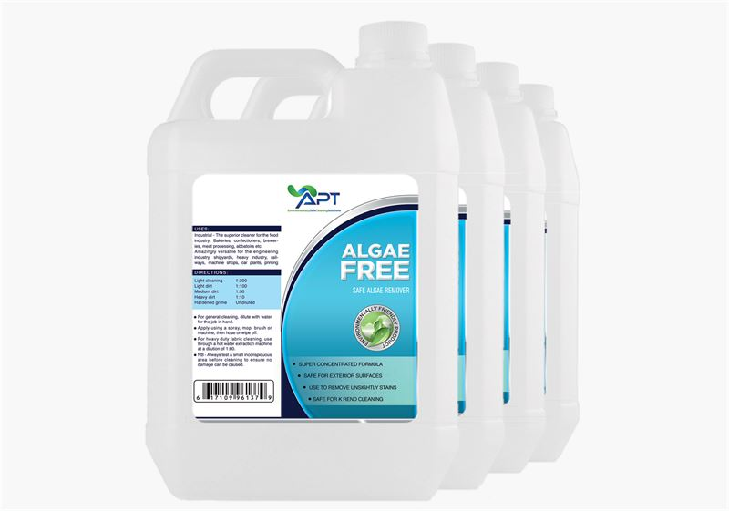 Picture of Render Cleaner Algae Remover - Algae Free - 4 x 5 Litres