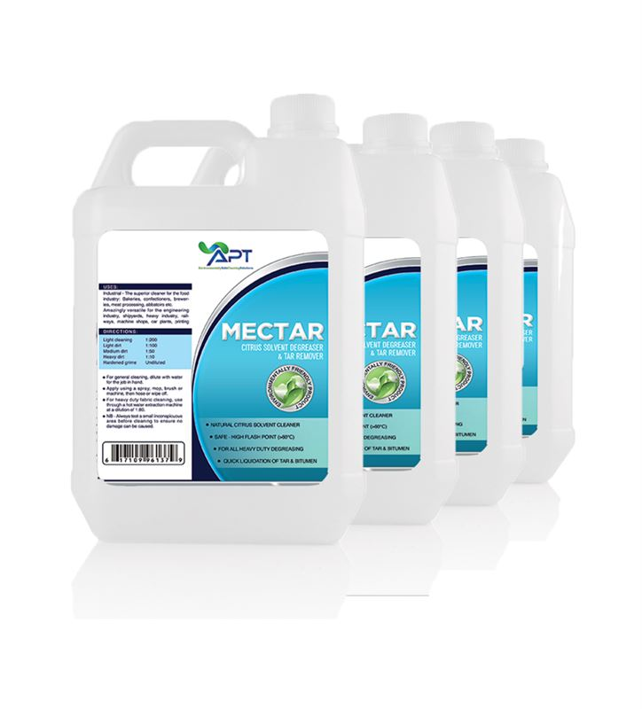 Picture of Solvent Degreaser & Tar Remover - Mectar Plus - 4 x 5 Litres
