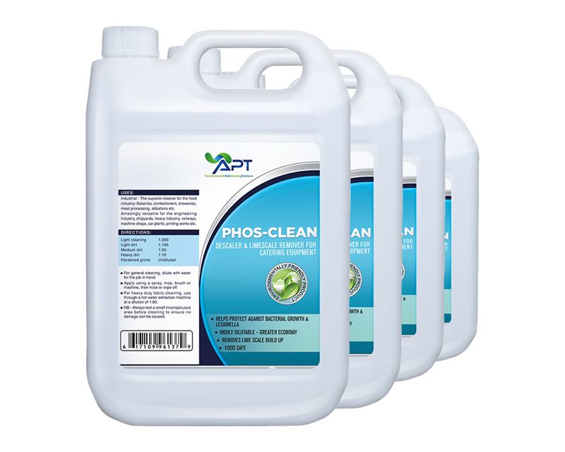 Picture of Descaler for Catering Equipment & Limescale Remover - Phos-Clean - 4 x 5 Litres