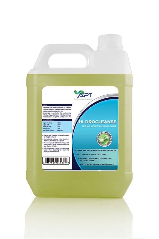Picture of Food Safe Hard Surface Cleaner - Hidrocleanse - 5 Litre