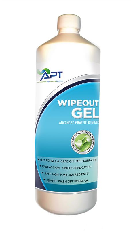 Picture of Graffiti Removal Products - Wipeout Gel - 12 x 1 Litre