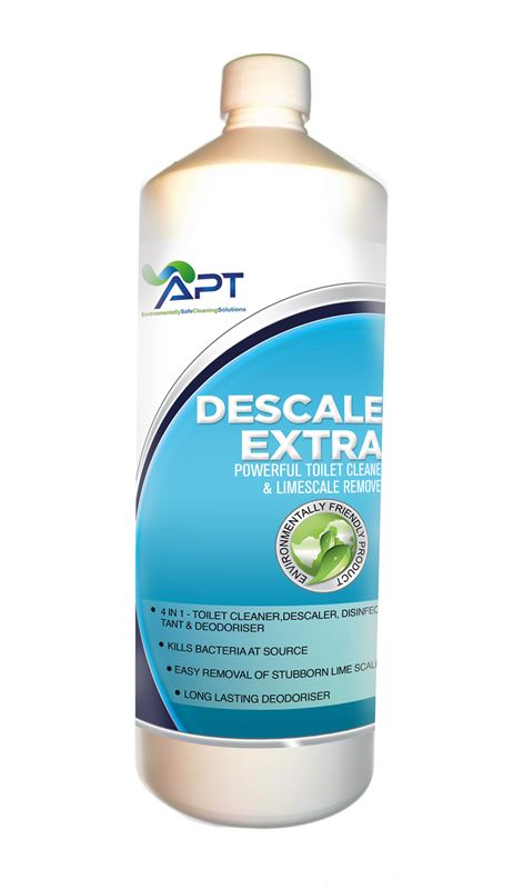 Picture of Concentrated Toilet Cleaner & Toilet Descaler - Eco Safe With Natural Perfumes - Descale - 12 x 1 Litre
