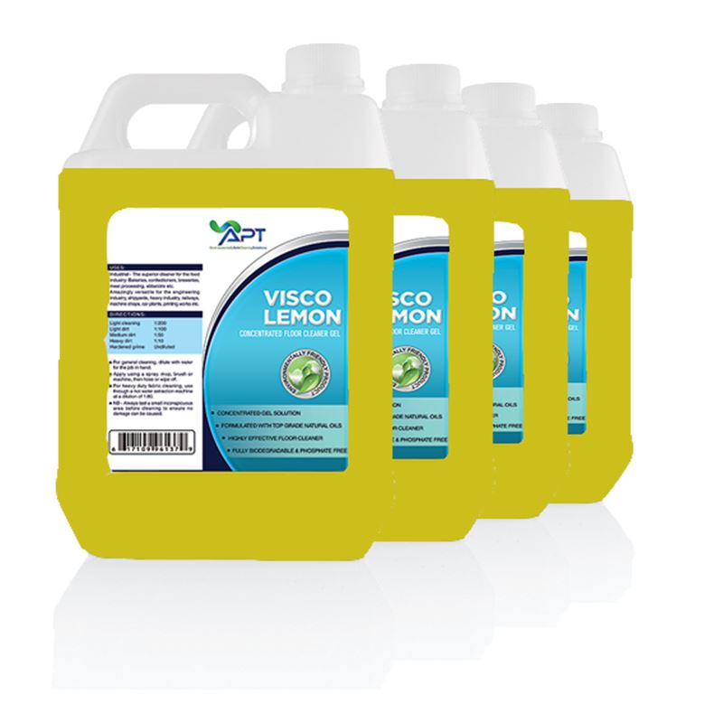 Picture of Deodorizer & Disinfectant - Visco Lemon - 4x5 Ltrs