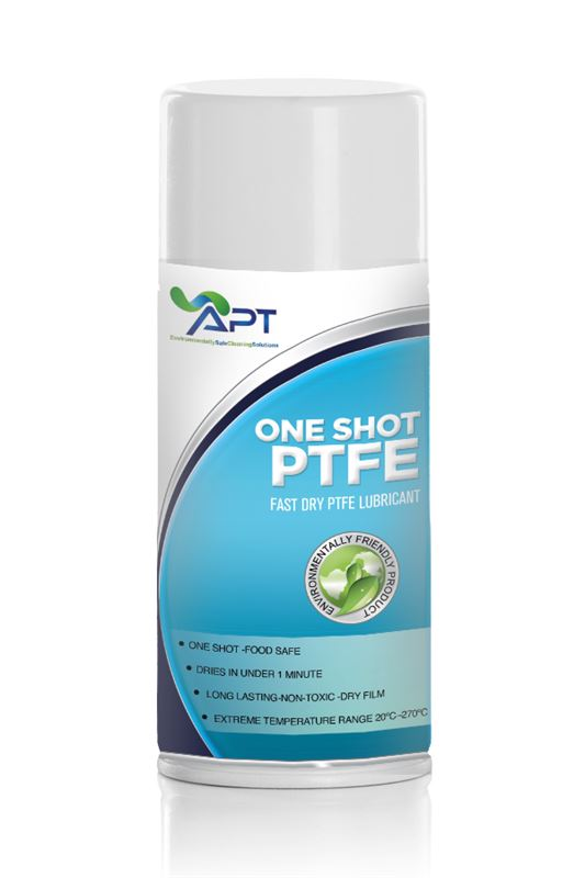 Picture of PTFE Lubricant Spray - One Shot PTFE - 12 x 400ml