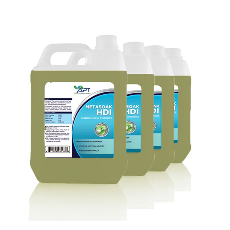 Picture of Aluminium Cleaner - Metasoak HDI - 4 x 5 Litres