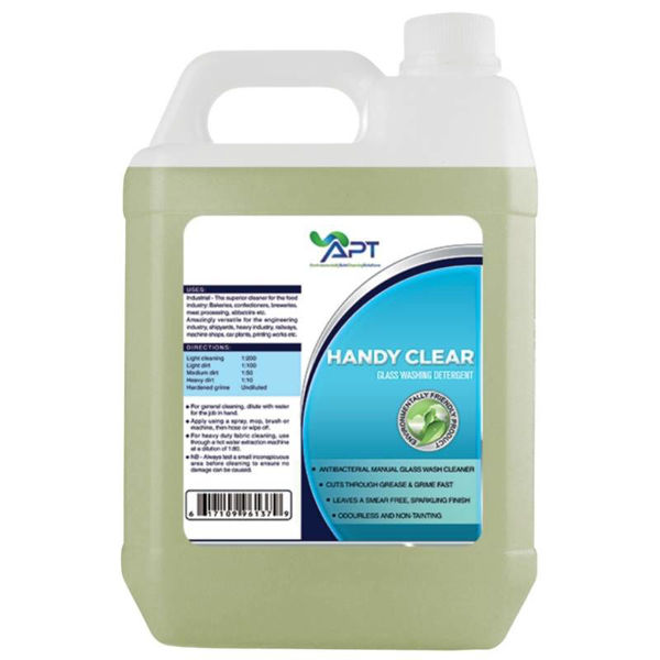 Picture of Glass Washing Detergent - Manual - Handy Clear